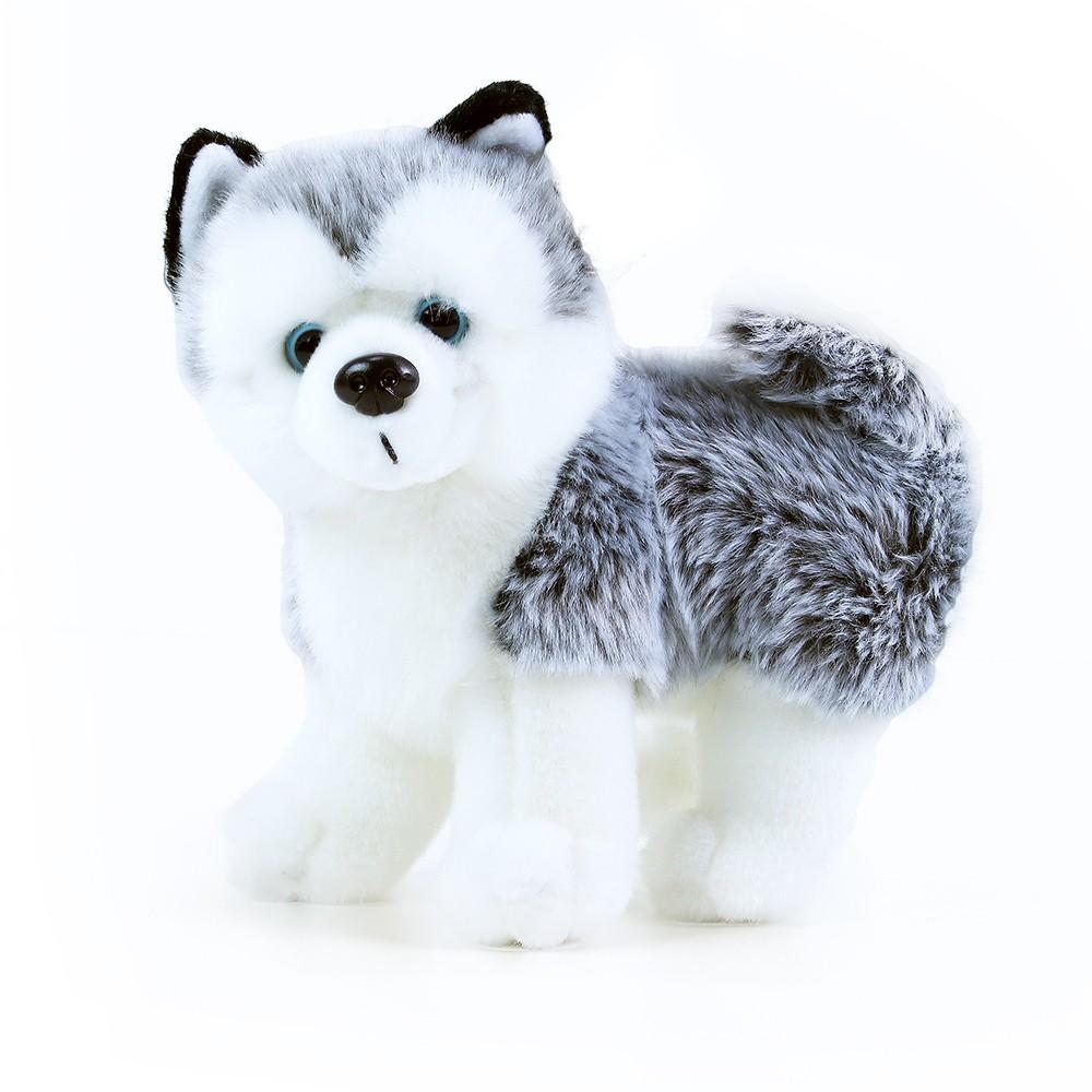 Plyšový pes Husky, 22cm