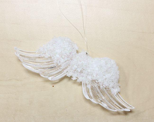 Anjelské krídla akrylátové 16cm