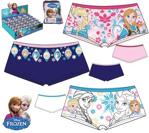 Boxerky Frozen  2/3, tm.modrá