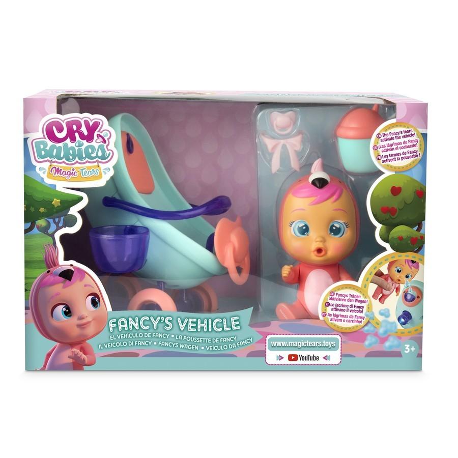 Sada bábätko s kočíkom - Cry Babies Magic Tears magické slzy