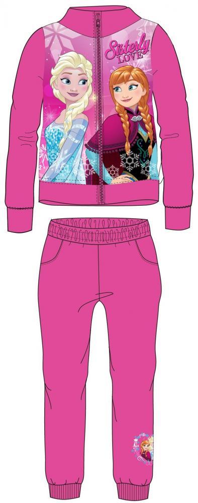 fb867cfdbe220 Tepláková súprava Frozen ružová a modrá | eshop | Nina-fashion.sk