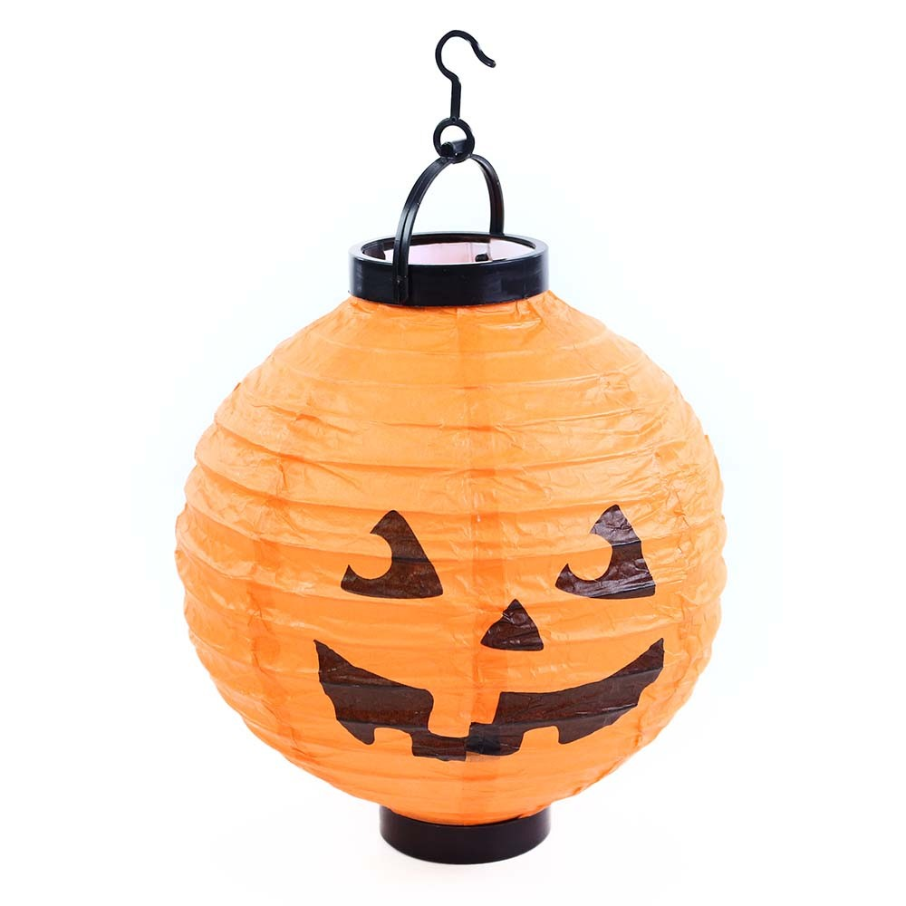 Lampion Halloween tekvica, na batérie