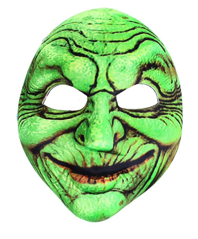 Maska Čarodejnica zelená