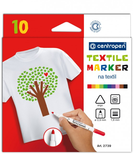 Značkovač na textil Centropen
