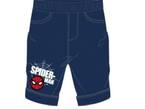 Kraťasy Spiderman  122 tmavomodré