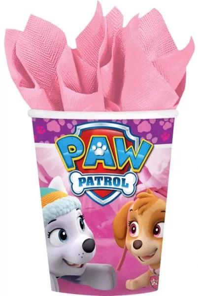 AMSCAN Papierové poháre Tlapková Patrola (Paw Patrol) 266ml -8ks