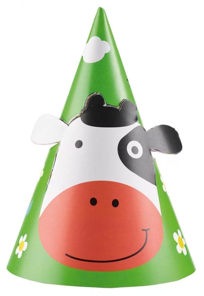 Papierový klobúk - Farma