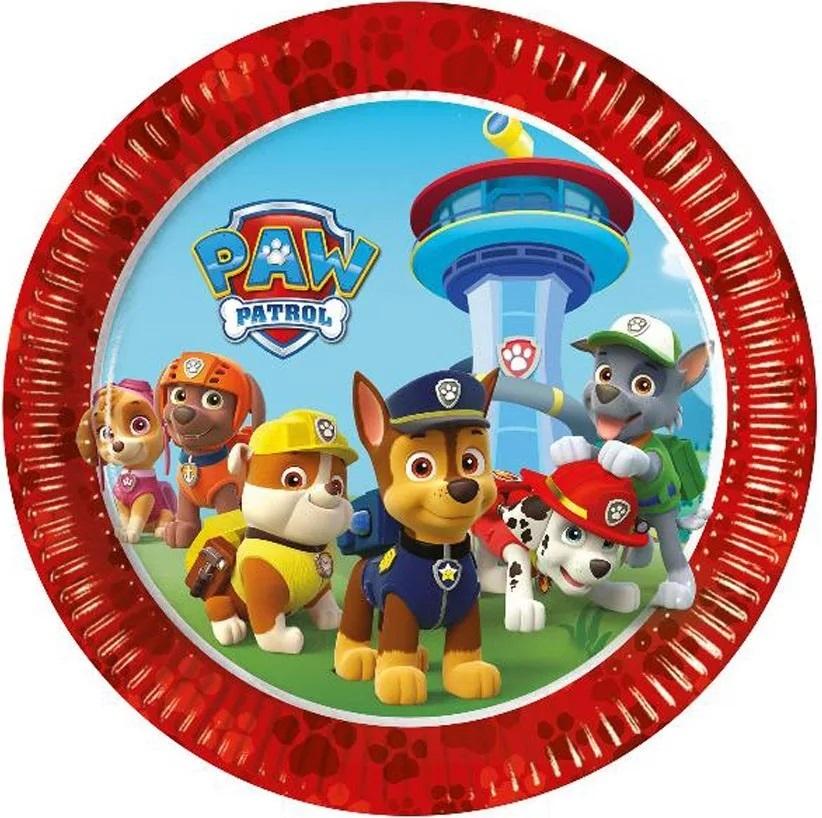 Papierové taniere Tlapková Patrola (Paw Patrol)