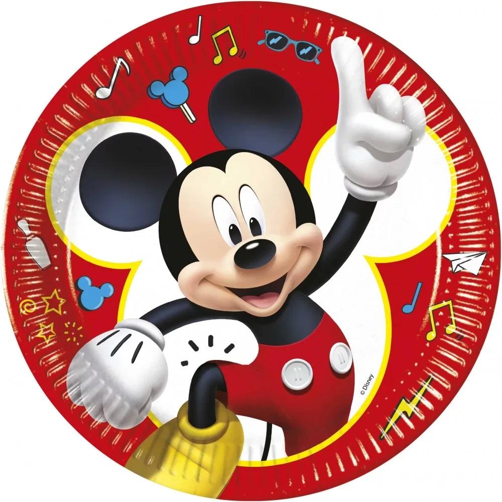 Papierové taniere Mickey