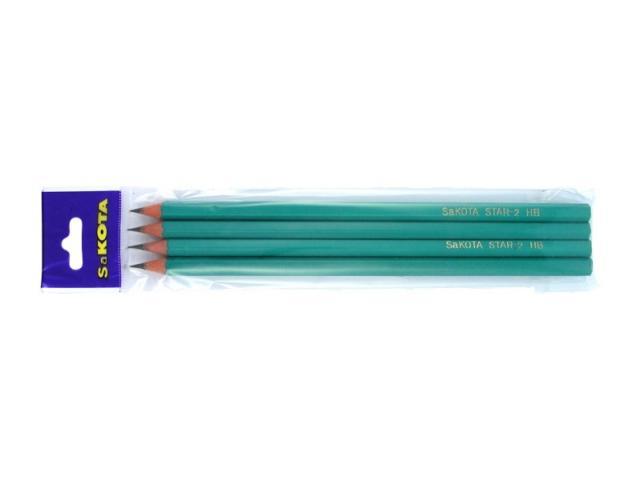 Ceruzka ohybná HB 4ks