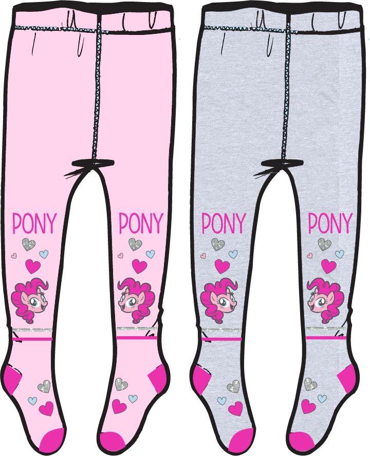 Pančušky My Little Pony 98/104 šedé