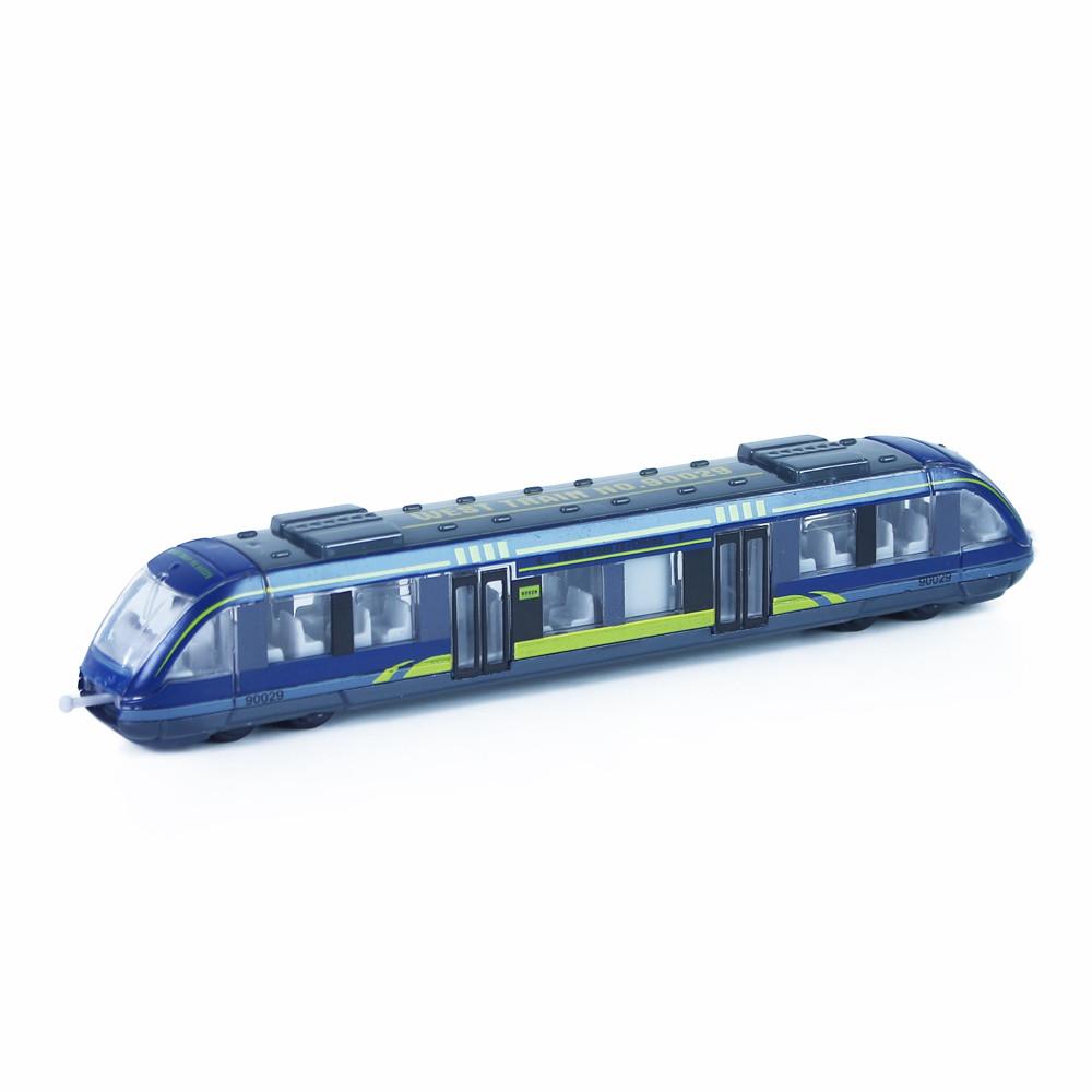 Moderný vlak kov / plast 3 druhy