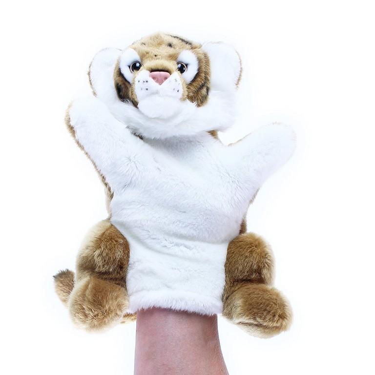 Plyšový tiger maňuška 28cm