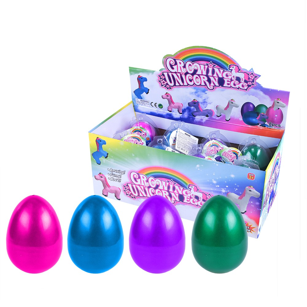 Jednorožec Maxi rastúci vo vajci