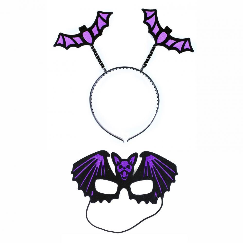 Čelenka Netopier s maskou
