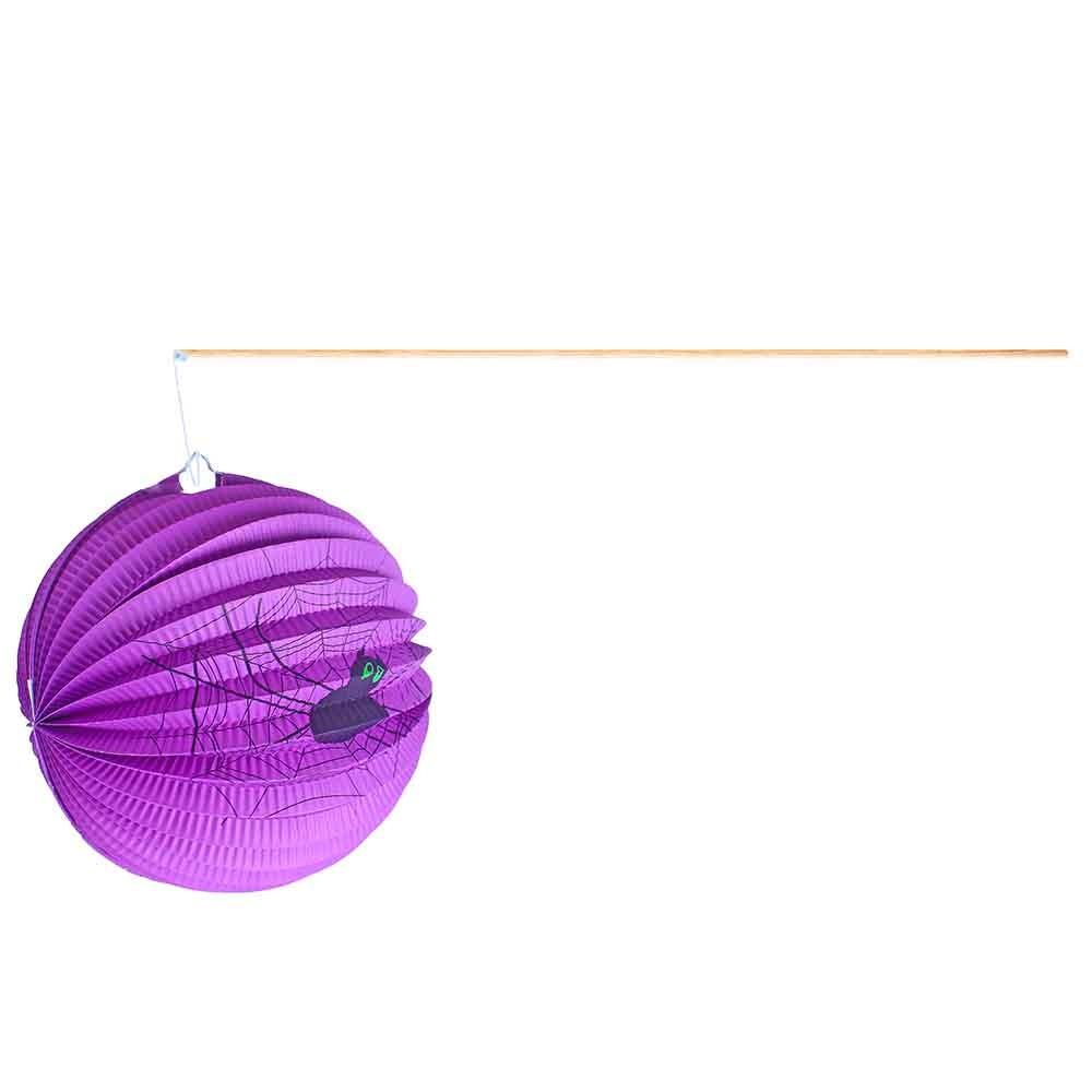 Lampión Halloween s paličkou, 25cm