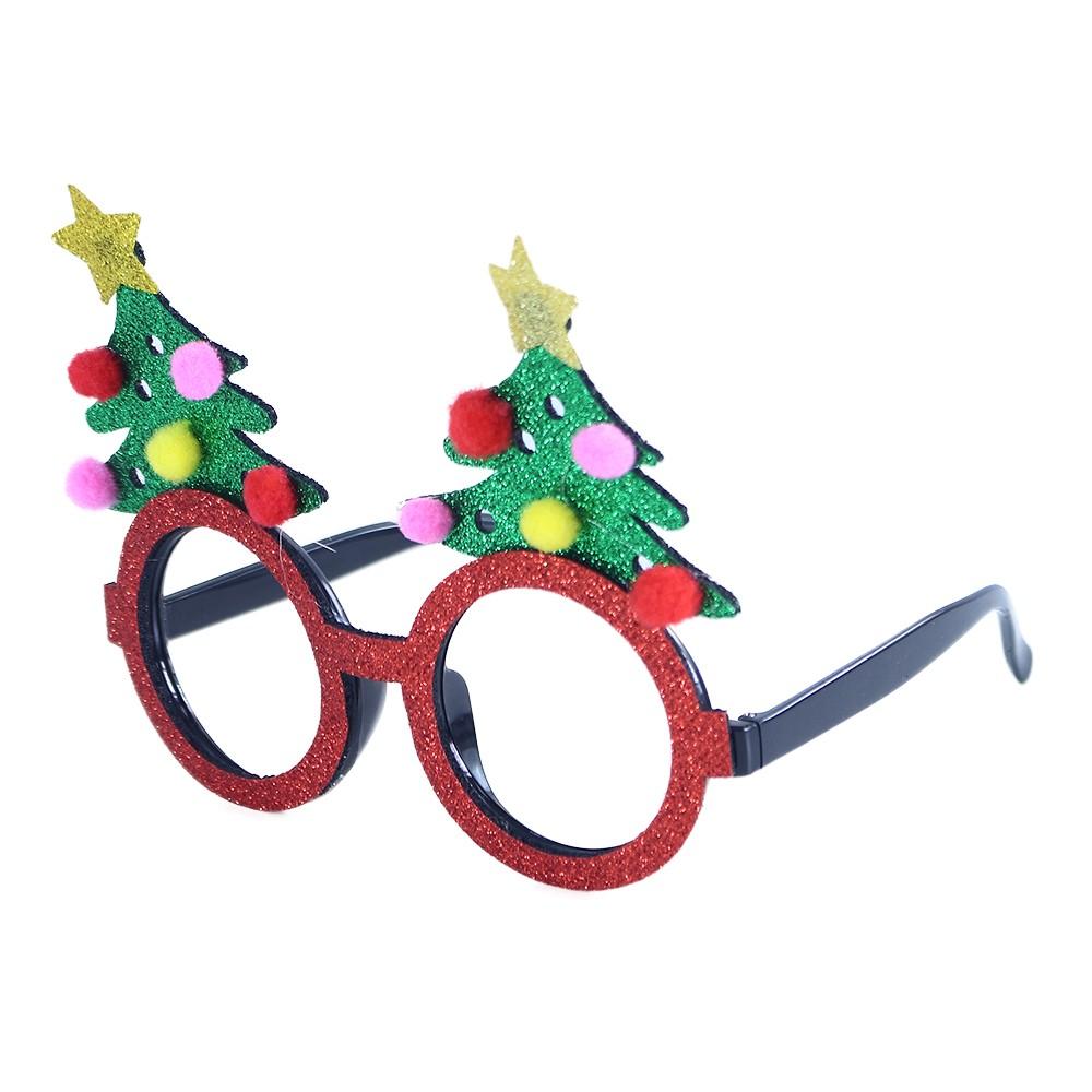 Okuliare vianočný strom