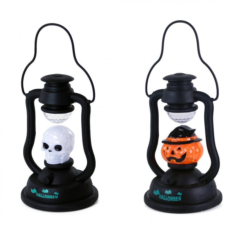 Lampa na halloween so zvukom a svetlom