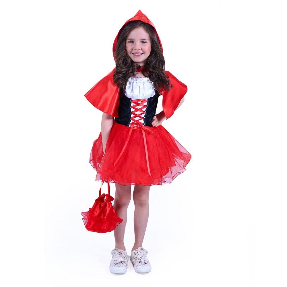 Karnevalový kostým Červená čiapočka S,M 116/128