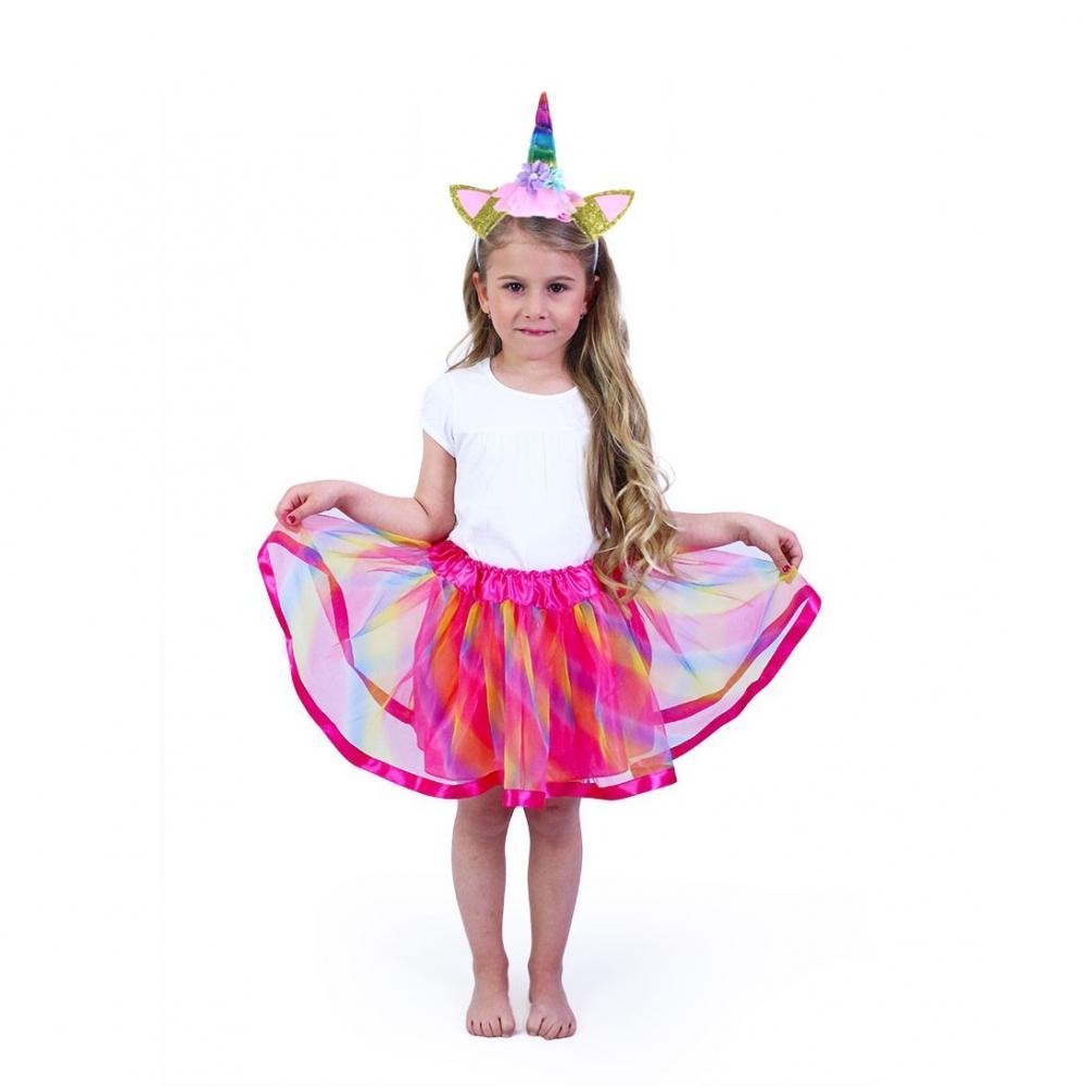 Karnevalový kostým Jednorožec - tutu sukňa + čelenka