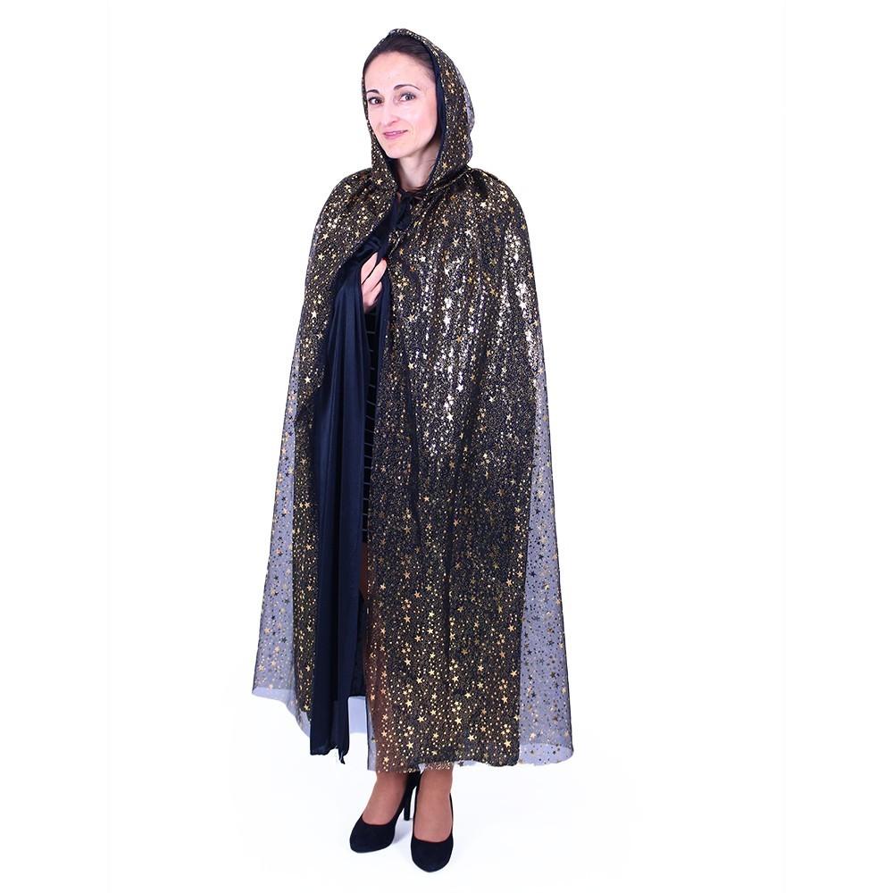 Karnevalový plášť čarodejnícky pre dospelých