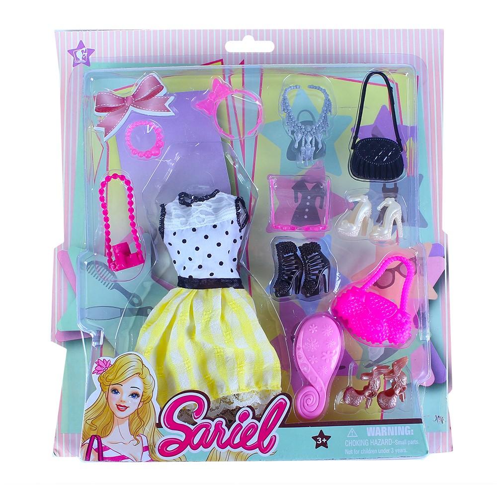 Oblečenie pre bábiky s doplnkami