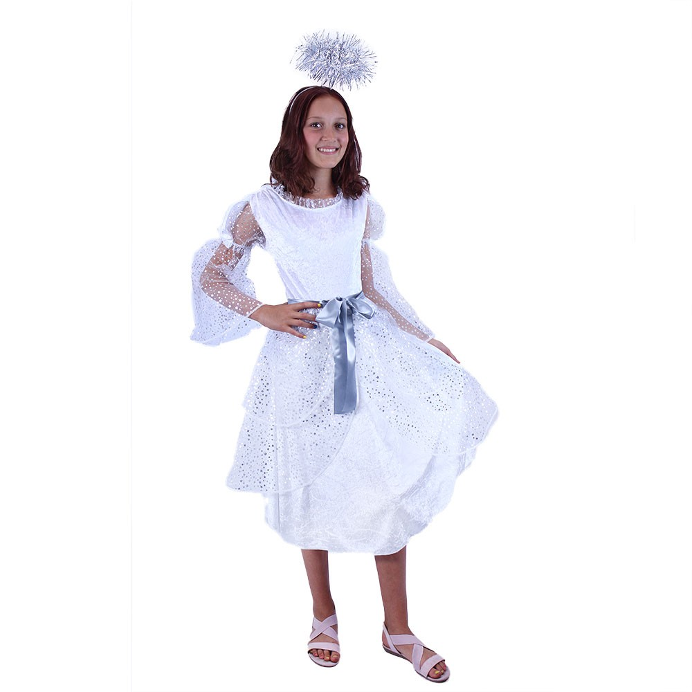 Karnevalový kostým anjel, M 6-8 rokov