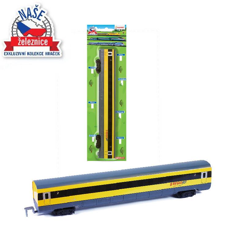 Náhradný vagón pre vlak RegioJet
