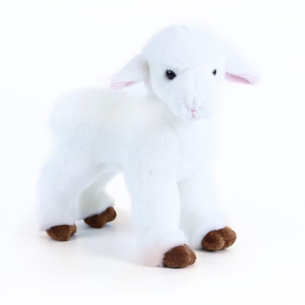 Plyšová ovečka stojaca, 23cm