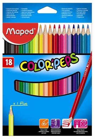 Pastelky MAPED 18ks