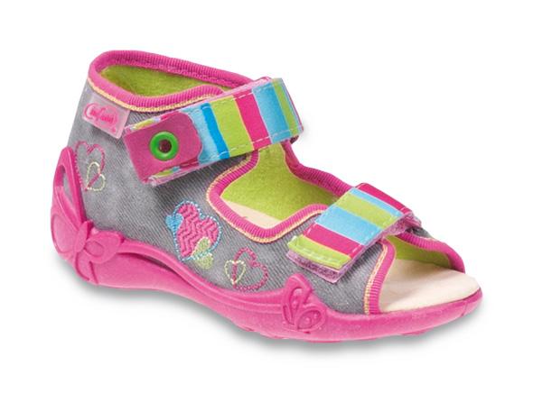2b18c5334c42 Dievčenské sandálky BEFADO - 242P068