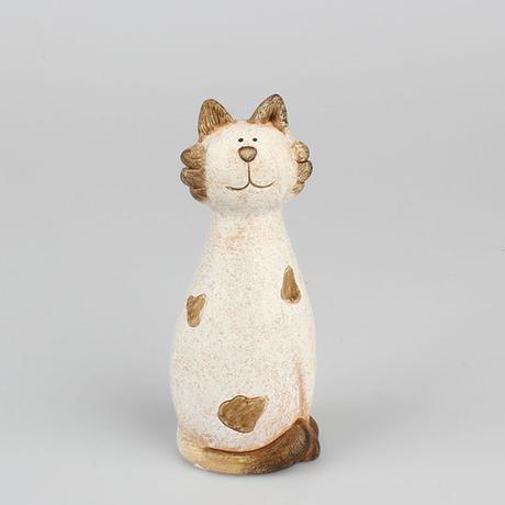 Keramická mačka retro