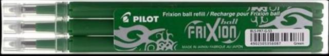 Náplň PILOT FRIXION zelená 0,7 odstrániteľ.písmo- 3ks balenie