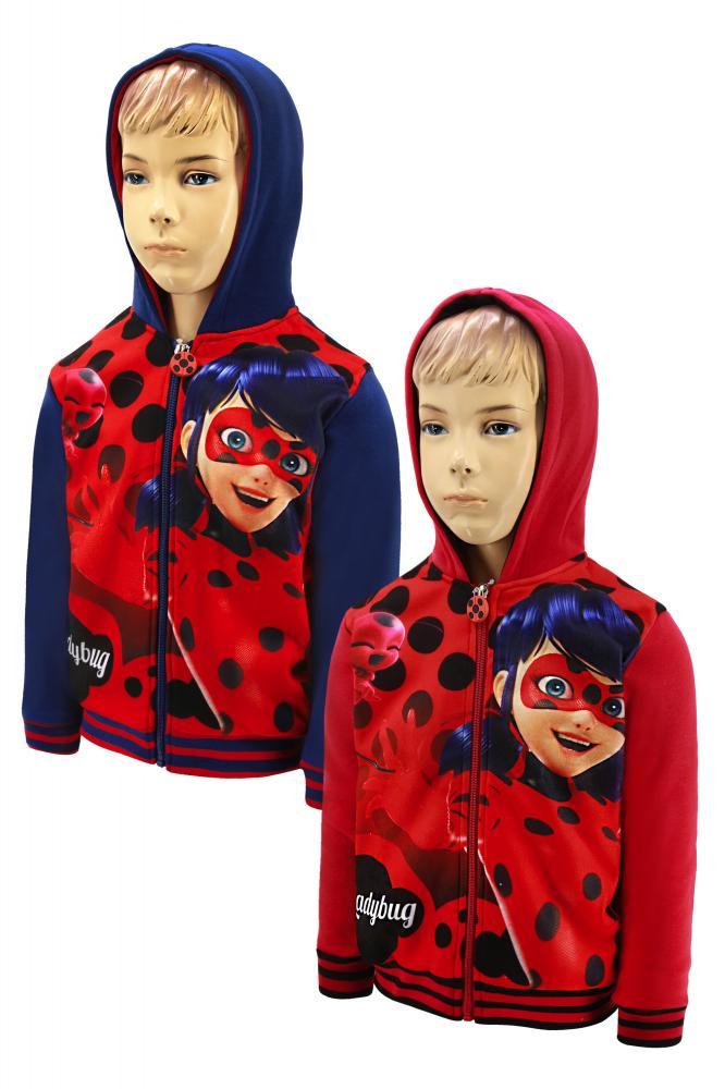 Mikina Miraculous Ladybug 104 modrá