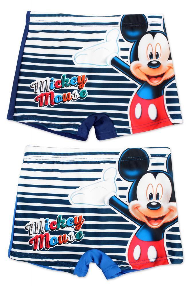 Plavky Mickey modré a tmavomodré modré,104