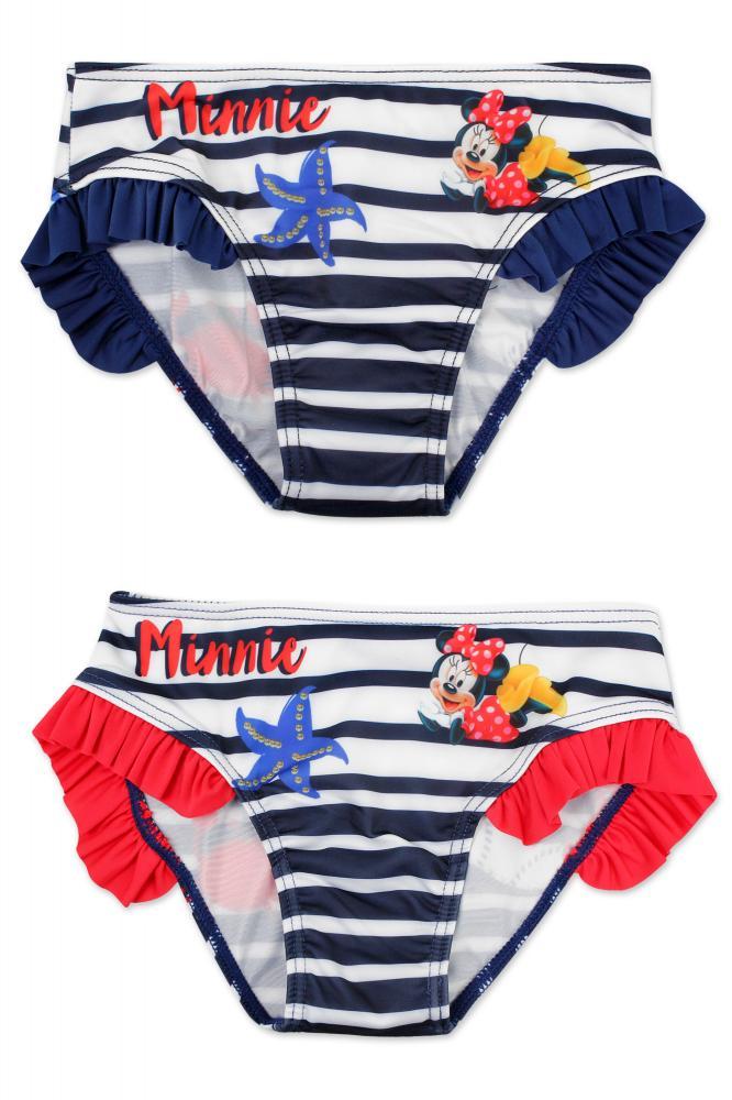 Plavky Minnie modré a červené modré;110