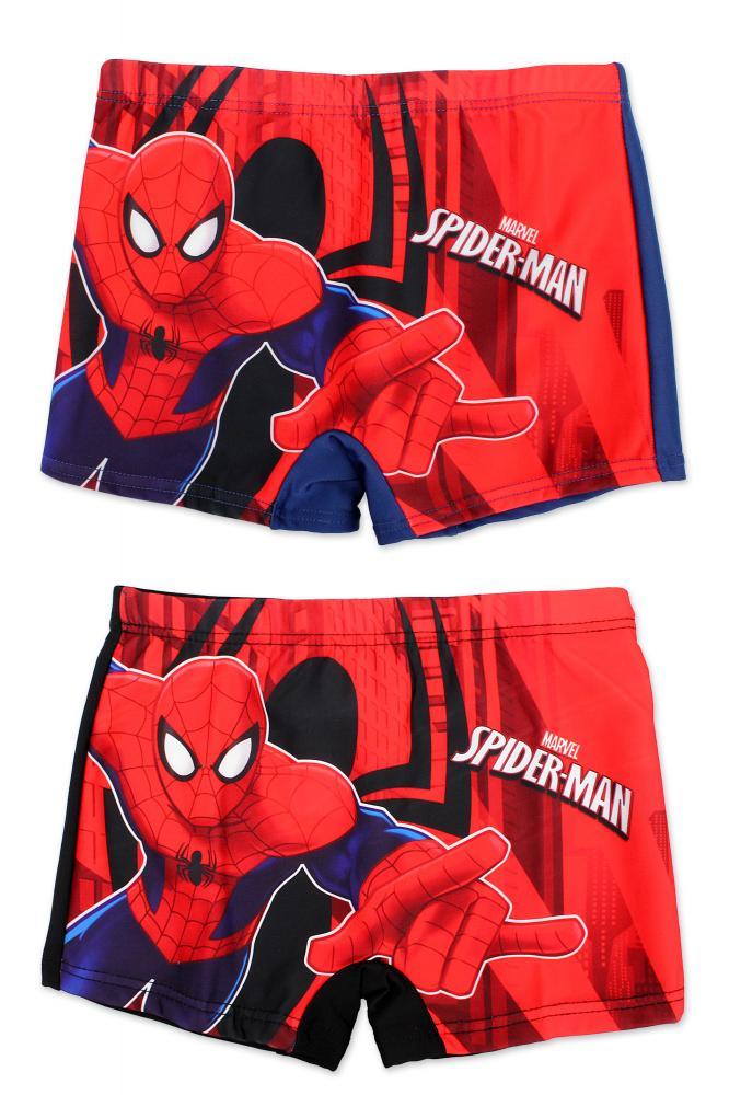 Plavky Spiderman modré a čierne čierne;98