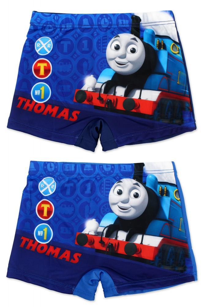 Plavky Vláčik Tomáš modré a tmavomodré tmavomodré,92