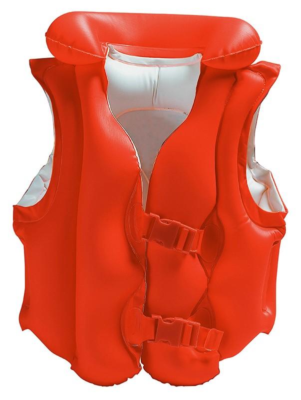 Nafukovacia vesta DELUXE plávacia 3-6 rokov