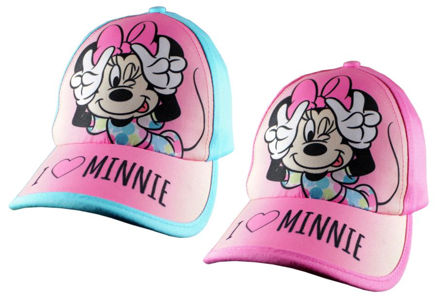 Šiltovka Minnie modrá a ružová modrá,52