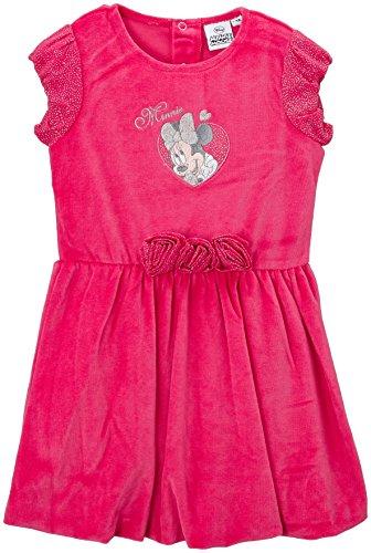 Dievčenské šaty Minnie velúrové ružové a tmavomodré tmavomodré;98