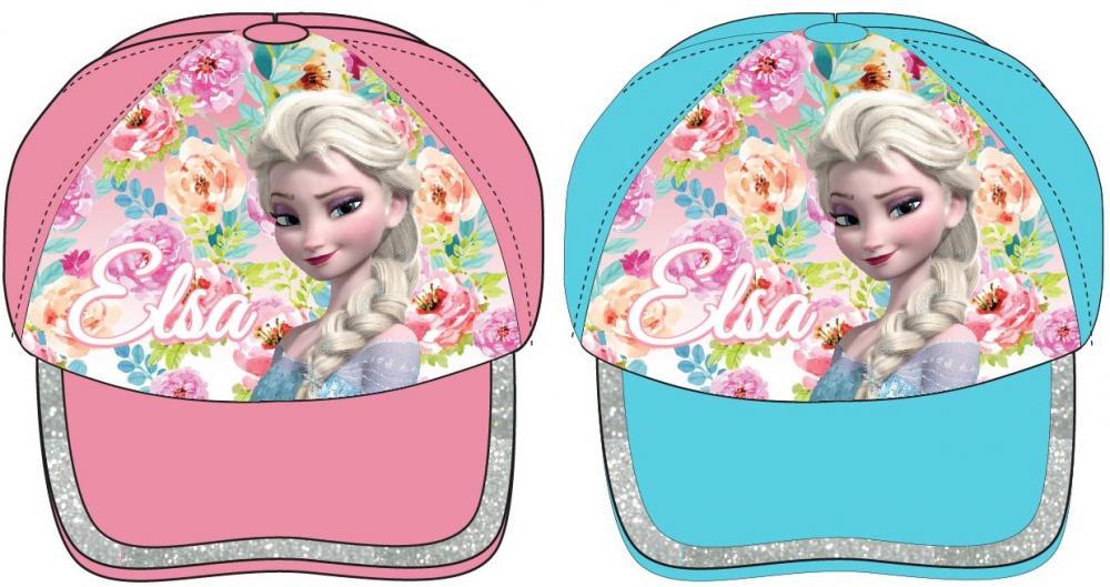 Šiltovka Frozen Elsa 52 modrá