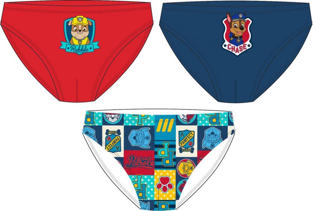 Slipy Tlapkova Patrola ( Paw Patrol ) 3ks 122/128