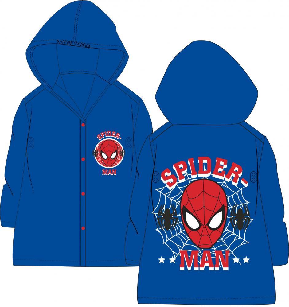 Chlapčenský pršiplášť Spiderman 110/116
