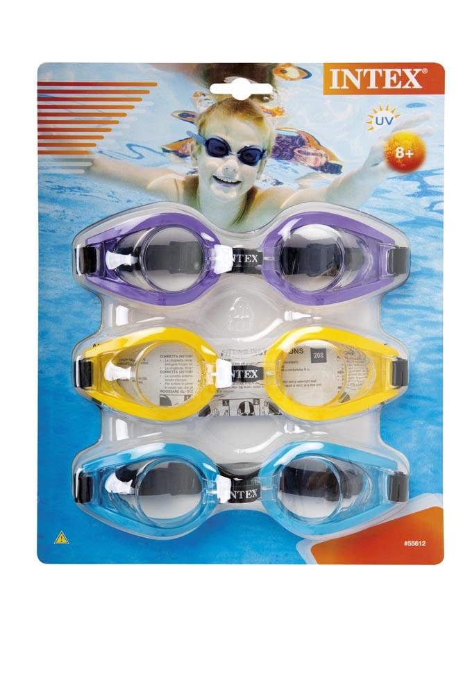 Plavecké okuliare 3-balenie Play