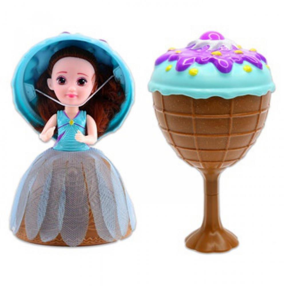 Bábika GELATO - zmrzlinový pohár s prekvapením