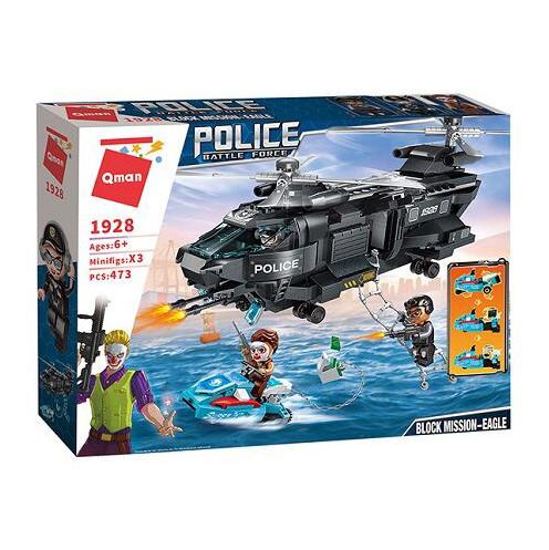 Stavebnica Qman Police Battle Force- Tajná misia