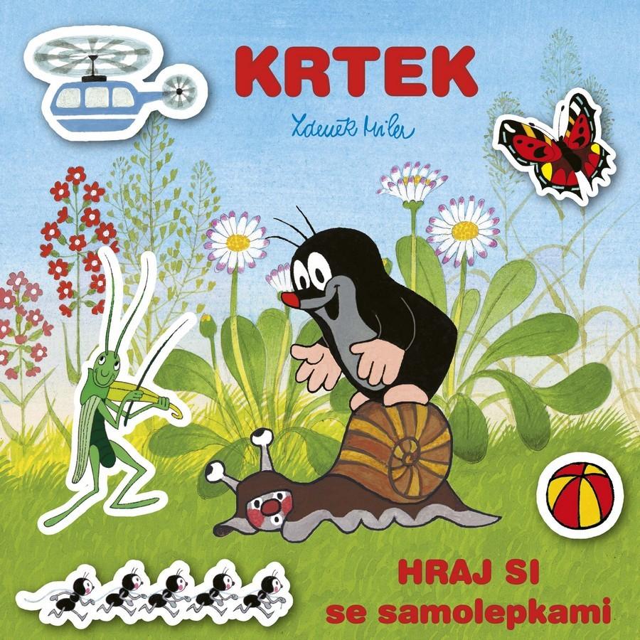 Album samolepky Hraj sa s Krtkom