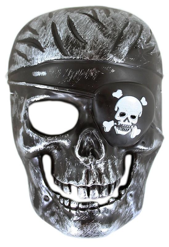 Maska Kostra pirát, detská