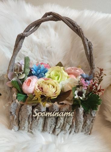 Košík plný kvetov Spomíname